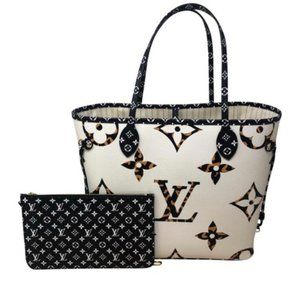 Neverfull MM Jungle Giant Monogram collection